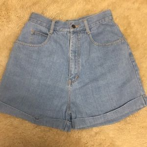 Mobility Sport High Waisted Mom Jean Shorts